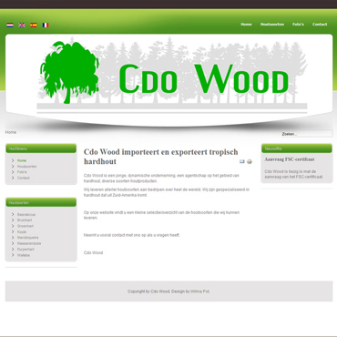 CV - Portfolio-website - Cdo Wood